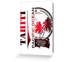 TAHITI Summer Island Greeting Card