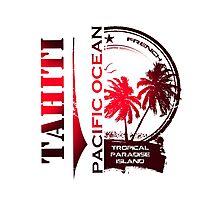TAHITI Summer Island Photographic Print