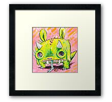 Subatomic Photon Muncher Framed Print