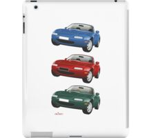Mazda MX-5 Miata blue iPad Case/Skin