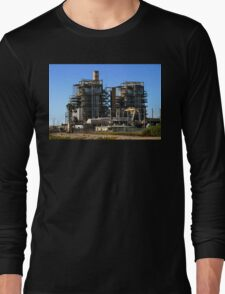 Natural Gas Power Plant Long Sleeve T-Shirt