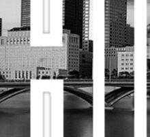 RecklessWear - Capital City Sticker