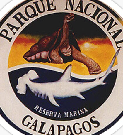 Galapagos National Park Sticker