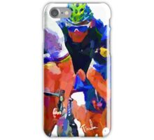 Cyclist Test Tee by Sachse One iPhone Case/Skin