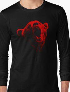 Bear Face Long Sleeve T-Shirt
