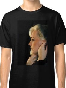 Blond Woman Classic T-Shirt