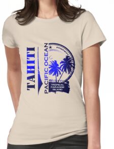 TAHITI Party Paradise Island Womens Fitted T-Shirt