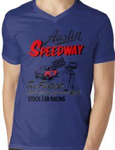 Austen speedway Mens V-Neck T-Shirt