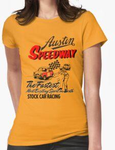 Austen speedway Womens Fitted T-Shirt