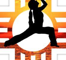 New Mexico Zia Yoga Sticker