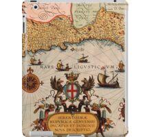 The Mediterranean Sea 1608 iPad Case/Skin