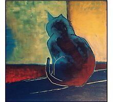 Cat painting 2015 Photographic Print