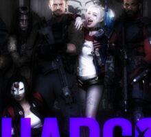 Suicide Squad Squadgoals Sticker