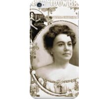 Performing Arts Posters AQ Scammons The real Widow Brown 1149 iPhone Case/Skin