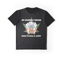 Funny Cartoon Weed Marijuana Pot Ganja Stoner Clothing and Gifts   Graphic T-Shirt
