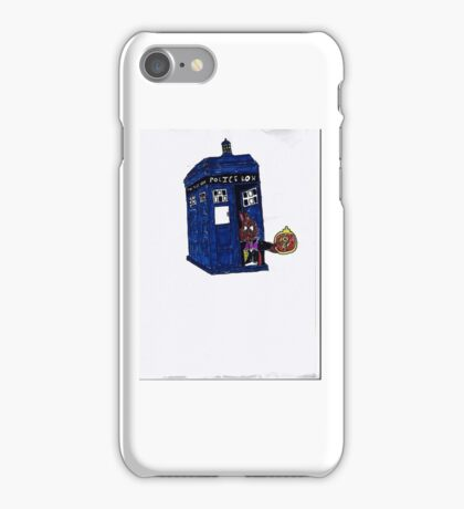 time lord bunny iPhone Case/Skin