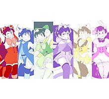 Osomatsu San Magical Boys Photographic Print
