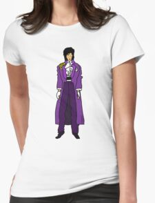 The Purple One Womens Fitted T-Shirt