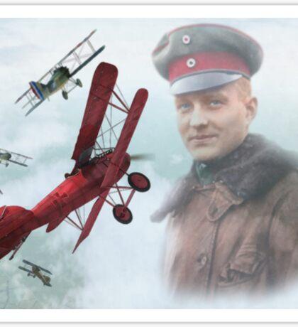 Rittmeister Manfred A. Freiherr von Richthofen Sticker