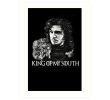 King of my south Art Print