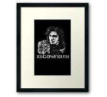 King of my south Framed Print