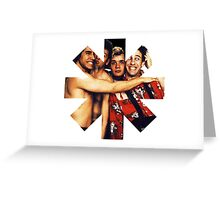 rhcp Greeting Card