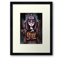 trick or treat Framed Print