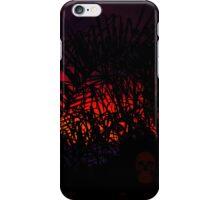 creepy sunset iPhone Case/Skin