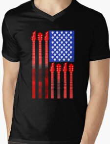 Country Music V.2 Mens V-Neck T-Shirt