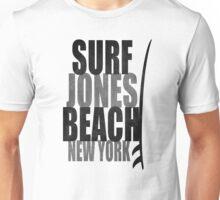 Surf Jones Beach Unisex T-Shirt
