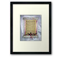 The Love Of God Framed Print