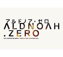 Aldnoah Zero Stylised Logo Photographic Print