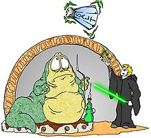 Jabba is in Trouble by Skree