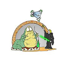 Jabba is in Trouble Photographic Print