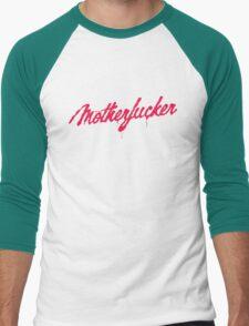 Motherfucker Logo Men's Baseball ¾ T-Shirt