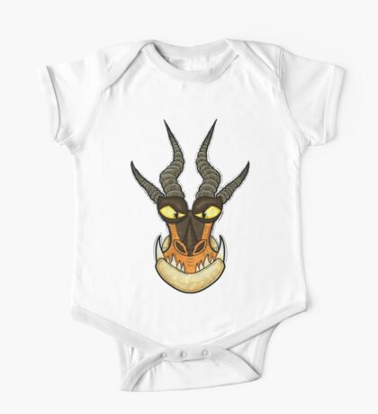How to Train Your Dragon - Monstrous Nightmare Face One Piece - Short Sleeve