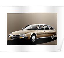 Poster artwork - Citroen CX 2400 Pallas Poster