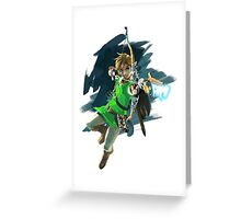 zelda hunter Greeting Card