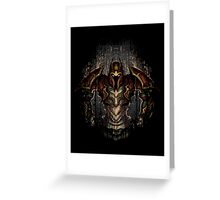 Dragon Knight Greeting Card