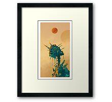 Alien Mantis Framed Print