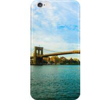 Brooklyn Bridge In  New York City iPhone Case/Skin