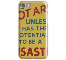 A quick definition of what is art and what is not iPhone Case/Skin
