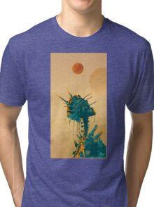 Alien Mantis Tri-blend T-Shirt