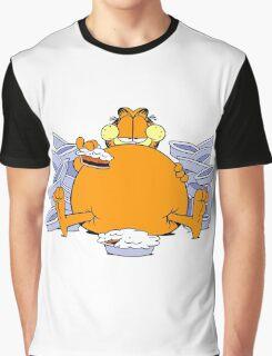 Garfield Eat Cake Graphic T-Shirt