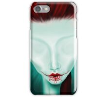 Crimson Lips iPhone Case/Skin