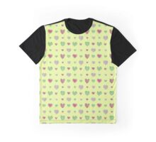 For the love of Watermelon - yellow background Graphic T-Shirt
