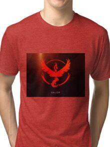 Pokemon GO - Team Valor (Red) Tri-blend T-Shirt