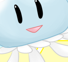 Lovable Jelly Fish - DMMD - CLEAR Sticker