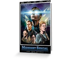 midnight special VHS Greeting Card