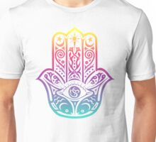 Colorful Hamsa Unisex T-Shirt
